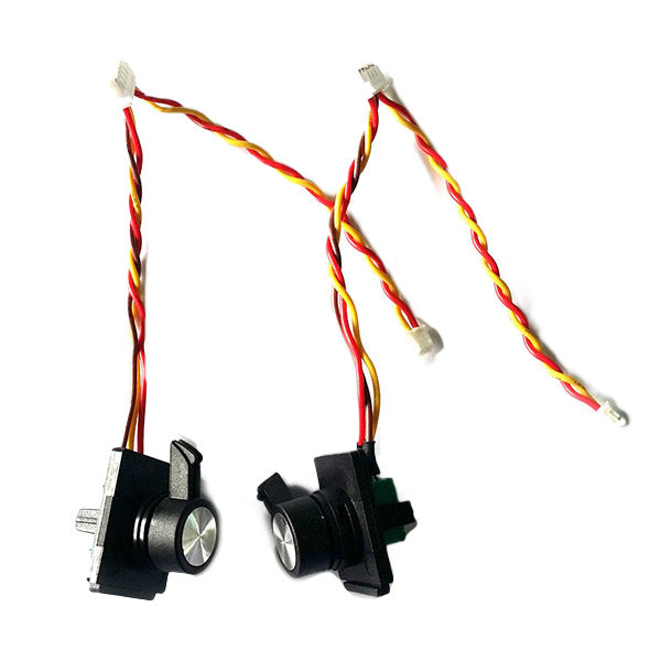 One Pair FrSky Taranis X9D Plus Replacement Side Slider parts for RC Drone Racing