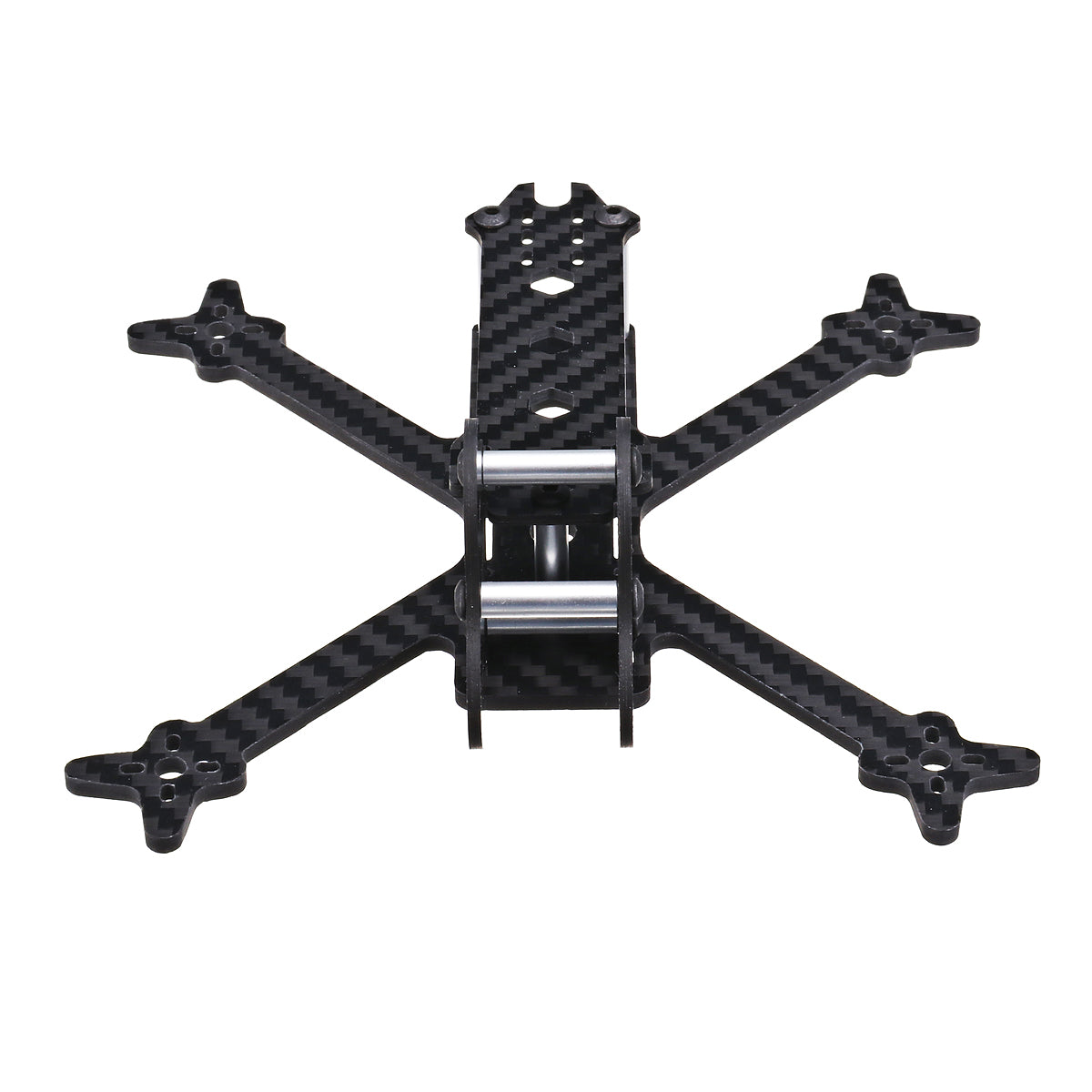 3 Inch 150mm Carbon Fiber FPV Racing Frame Kit URUAV UF4 3mm Bottom Plate for RC Drone