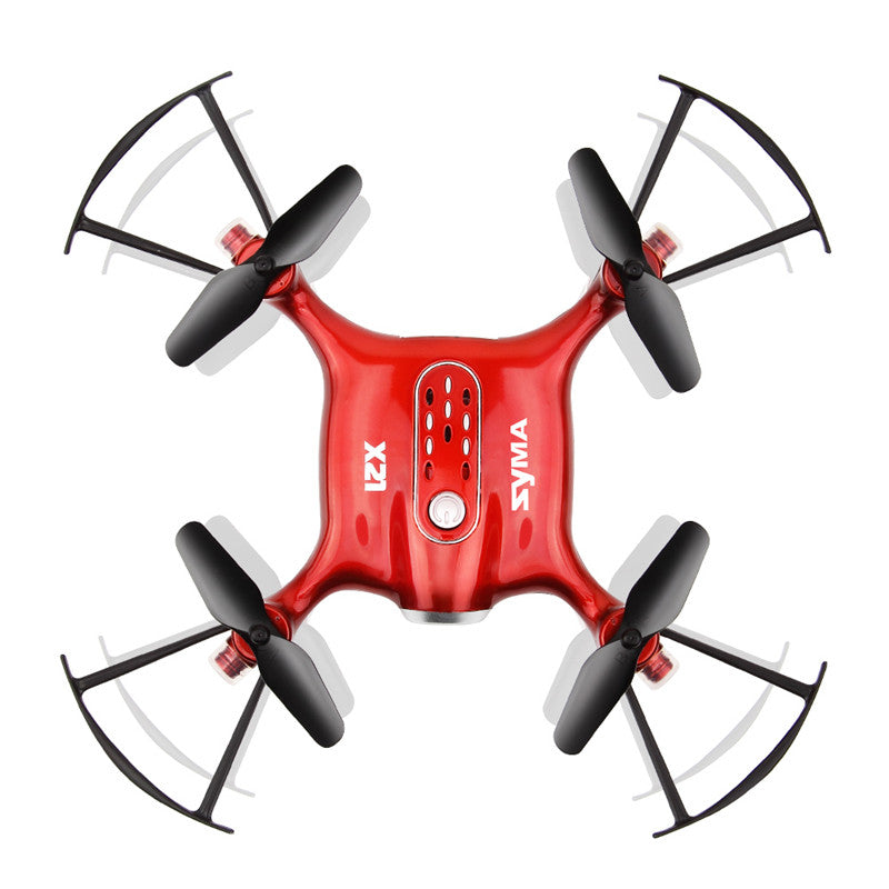 Syma X21 2.4G 4CH 6Aixs Headless Mode Altitude Hold Mode RC Drone Quadcopter RTF
