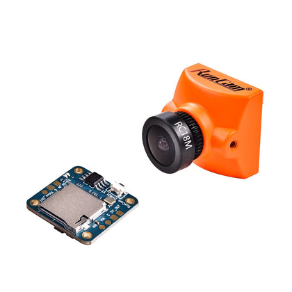 RunCam Racer 2 + Mini DVR Remote Control Super WDR CMOS 700TVL 1.8mm/2.1mm fpv Camera 6ms Low Latancy OSD With Selector Switch - Drone 4 Racing Drone 4 Racing Drone For Racing