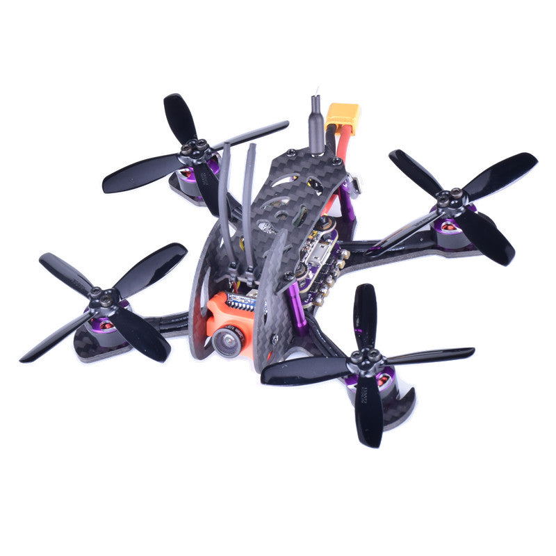 Everwing Cyclone 110 110mm F3 OSD FPV Racing Drone PNP BNF w/ 48CH 25/100/200mW VTX 600TVL Camera