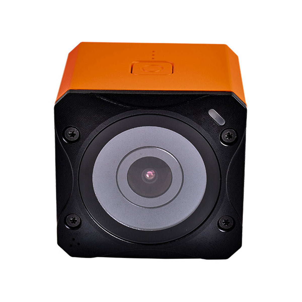 Runcam 3S WIFI 1080p 60fps WDR 160 Degree FPV Action Camera+35 Degree Inclined Base Camera Protective Frame Case Orange for RC Racing Drone