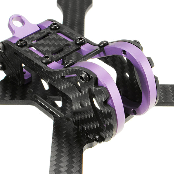 Realacc Purple215 215mm 4mm Arm Thickness Carbon Fiber Anniversary Special Edition RC Drone FPV Racing Frame