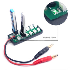1S 3.7V Lipo Battery Balanced Charging Adapter Board For IMAX B6 Charger