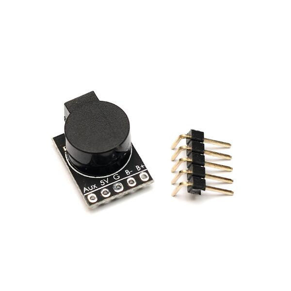 Matek Lost Model Beeper Flight Controller 5V Loud Buzzer Built-in MCU for RC Drone FPV Racing