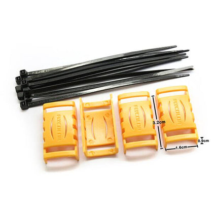 4 PCS Flycolor ESC Protective Case 32x16x9mm for RC Drone FPV Racing - Drone 4 Racing Drone 4 Racing Default Title Drone For Racing