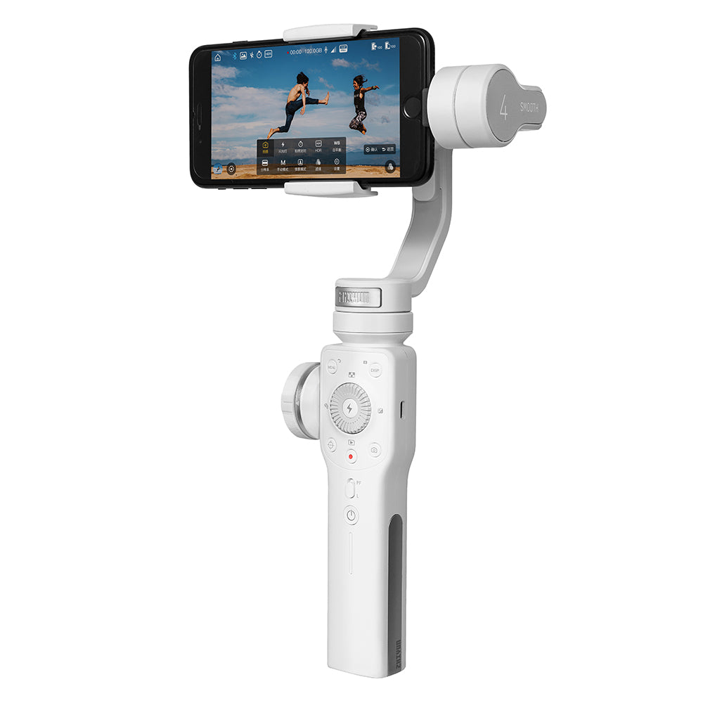 Zhiyun Smooth 4 Brushless 3 Axis Handheld Gimbal Stabilizer For All Phones iPhone Filmmakers
