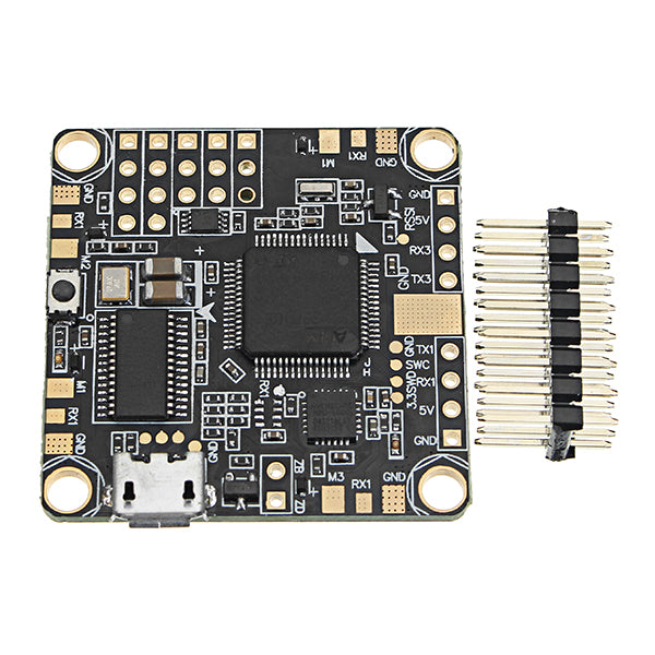 Betaflight F4 Flight Controller Built-in OSD BEC PDB and Current Sensor for RC FPV Racing Drone