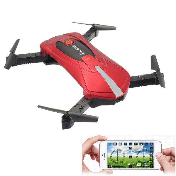 Eachine E52 WiFi FPV Selfie Drone With High Hold Mode Foldable Arm RC Quadcopter RTF