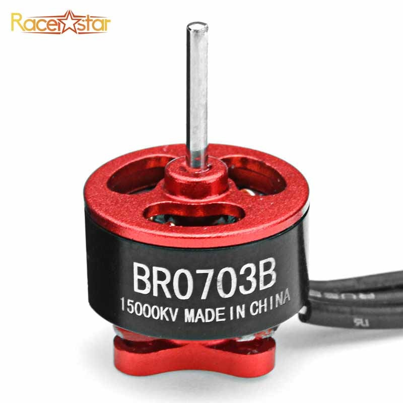 Racerstar Racing Edition 0703 BR0703B 15000KV 20000KV 1-2S Brushless Motor For RC Models Multicopter Drone Frame Accessories
