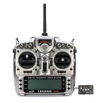 Original FrSky 2.4G ACCST Taranis X9D Plus Transmitter With X8R Receiver for RC Drone FPV Racing - Drone 4 Racing Drone 4 Racing Drone For Racing