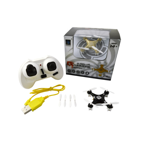 Cheerson CX-10A CX10A Headless Mode 2.4G 4CH 6 Axis RC Drone Quadcopter RTF