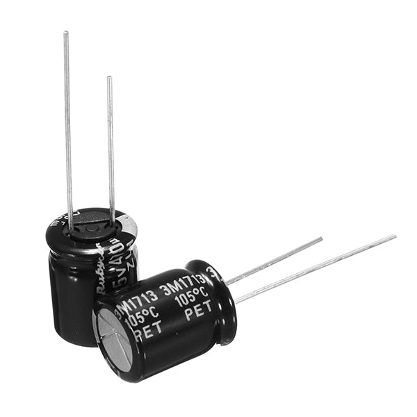 10 PCS 25V 470UF Multirotor FM Series PDB Capacitor 8x12mm for RC Drone FPV Racing