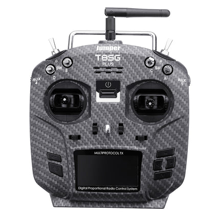 Transmitter Carbon Fiber for Flysky Frsky Jumper T8SG V2.0 Plus Hall Gimbal Multi-protocol Advanced 2.7