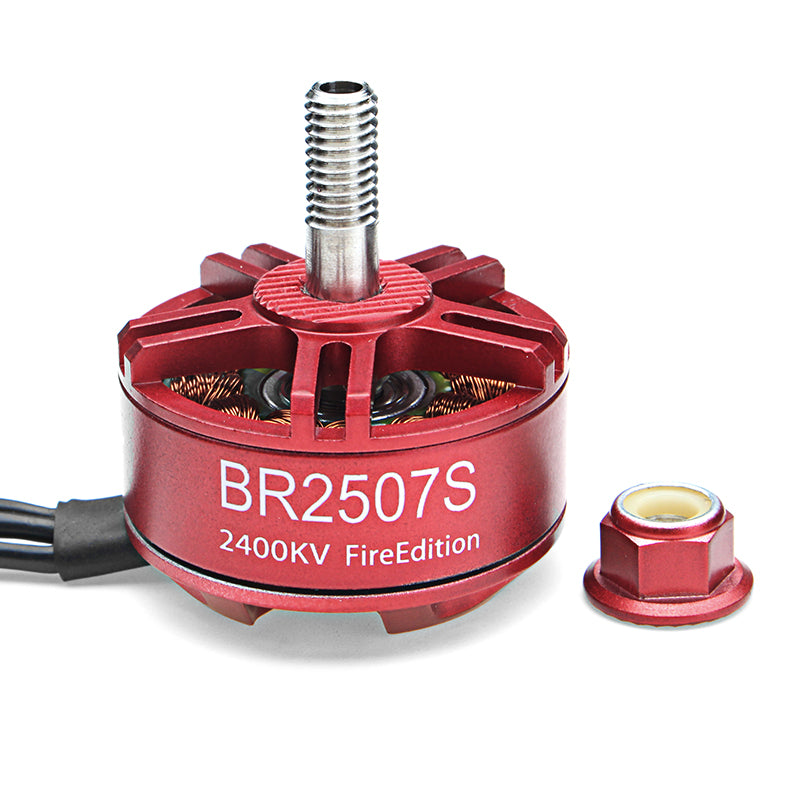4X Racerstar 2507 BR2507S Fire Edition 2400KV Brushless Motor For RC Drone FPV Racing Frame