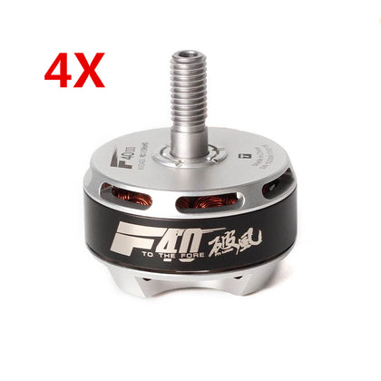 4X T-Motor F40 F40III 2306 2400KV 3-4S Brushless Motor For 200 210 220 250 260 RC Drone FPV Racing