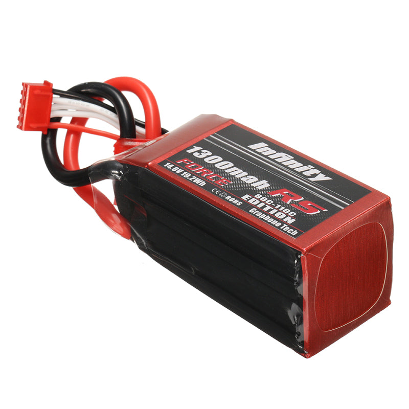 AHTECH Infinity 1300mah 80C-110C 4S1P 14.8V RS FORCE EDITION Lipo Battery for RC FPV Racing Drone