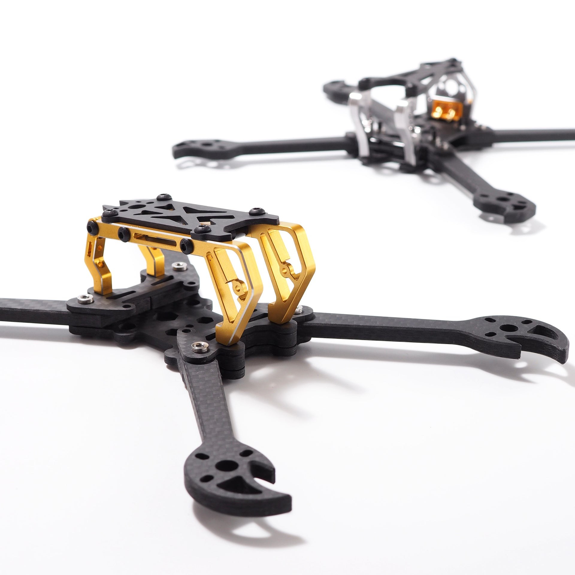 FLYWOO CRAB 220mm 5 Inch FPV Racing Frame 5mm Arm Supports RunCam Micro Swift Foxxer Arrow M icro