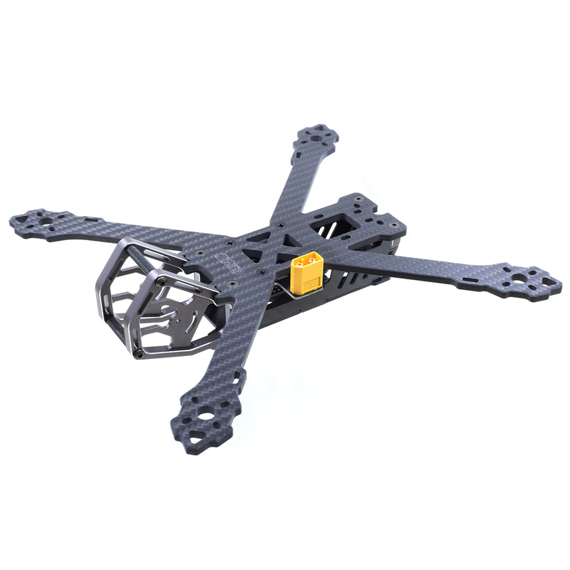 GEPRC GEP-KX5 Elegant 243mm FPV Racing RC Drone X Frame Kit 4mm Arm w/ PDB 5V & 12V