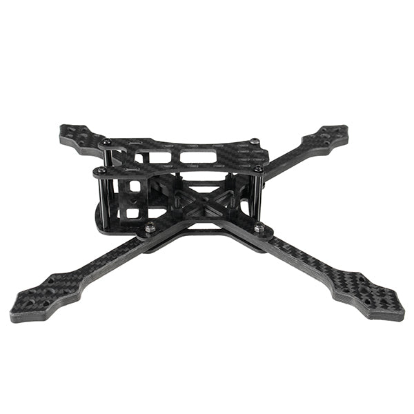 Realacc Furious 220mm Carbon Fiber 6mm Arm FPV Racing Frame Kit 97g for RC Drone FPV Racing