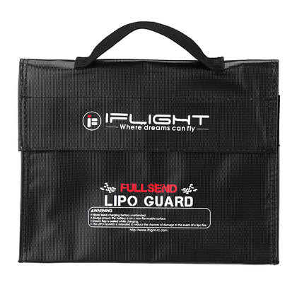 Lipo-Battery Fireproof Bag iFlight 240X180X65mm Fire Retardant Pack Portable Explosion Proof Safety Bag
