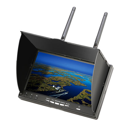 Eachine LCD5802D 5802 5.8G 40CH 7 Inch FPV Monitor with DVR Build-in Battery - Drone 4 Racing Drone 4 Racing Default Title Drone For Racing