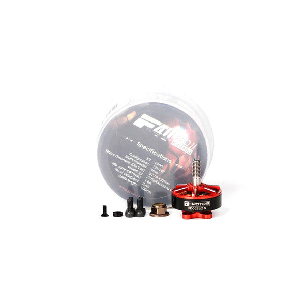 T-motor F40 PRO II 2306 1600KV 2400KV 2600KV 3-4S Brushless Motor for RC Multirotor FPV Racing Drone