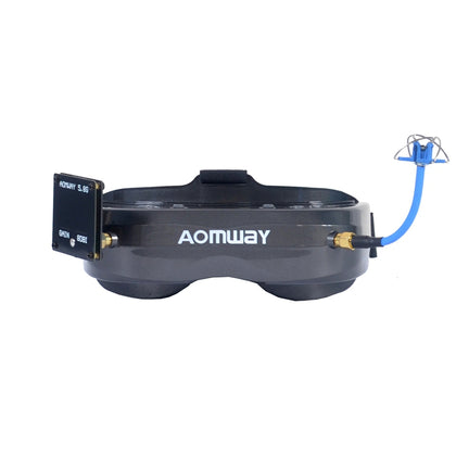 AOMWAY Commander V2 FPV Goggles 1080P 5.8G 64CH Headset HDin AVin Support Head Tracker - Drone 4 Racing Drone 4 Racing Default Title Drone For Racing