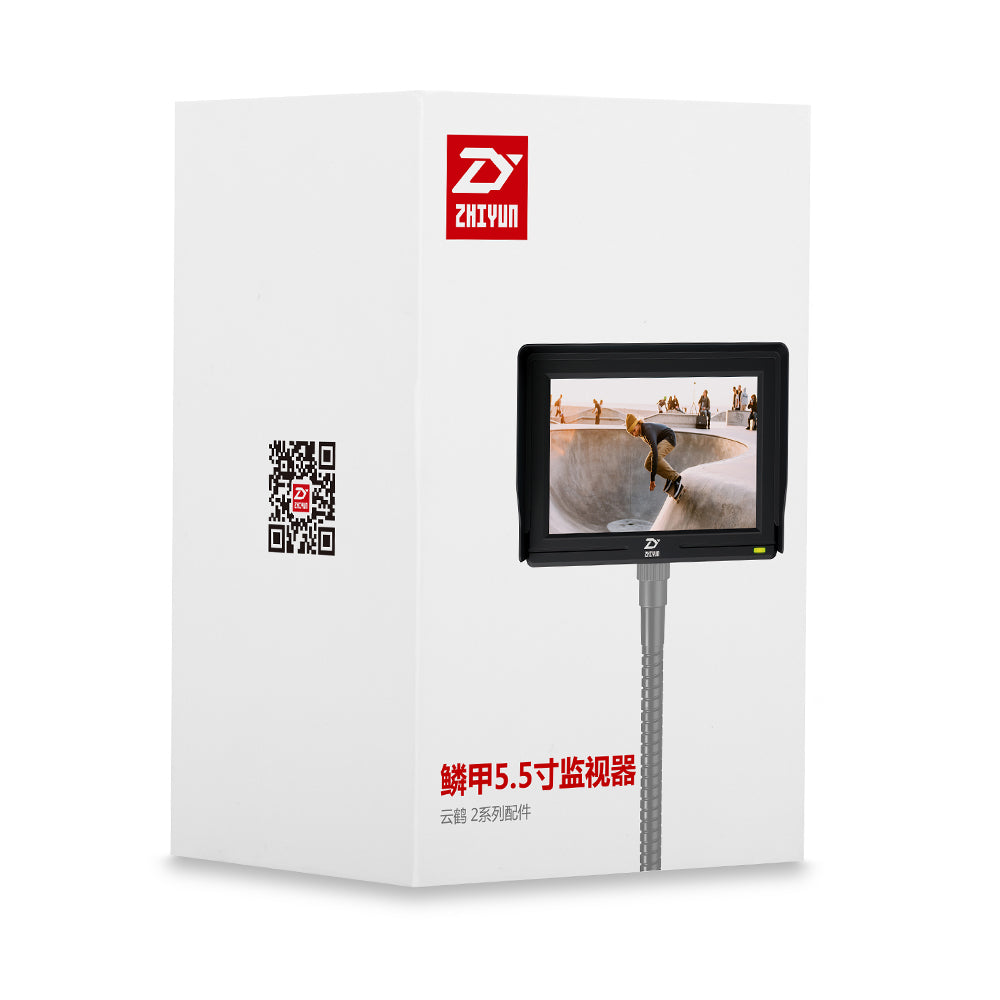 "Zhiyun 5.5"" Mini Camera Display Monitor w/ HDMI 1920x1080 LCD for Gimbal Stabilizer Crane 2 V2"