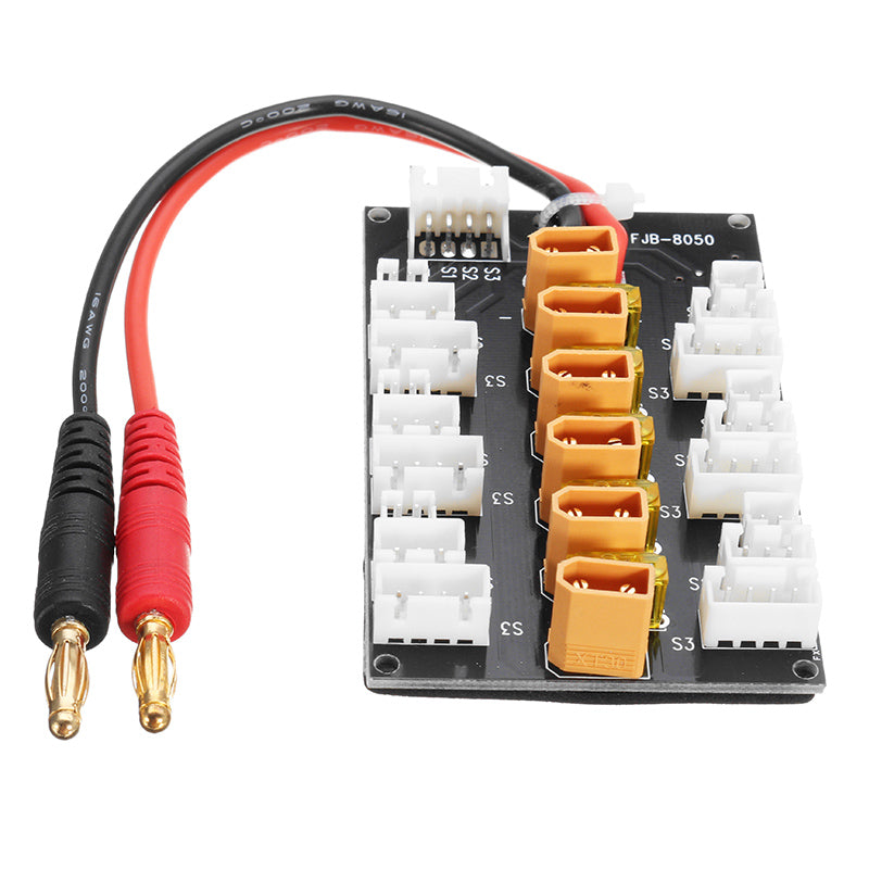 1S-3S XT30 Plug Parallel Charging Board Para Board for B6 Charger