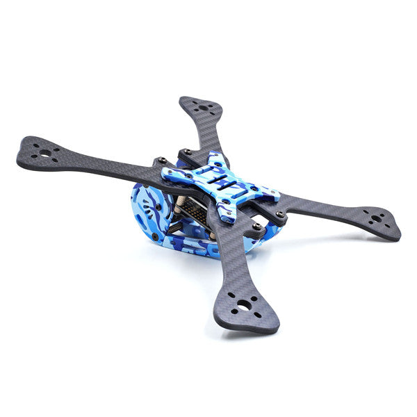 Geprc GEP-LX5-V4 Leopard Spare Part 7075 Aluminum Alloy Frame Parts with Camouflage Pattern for LX5 RC Drone