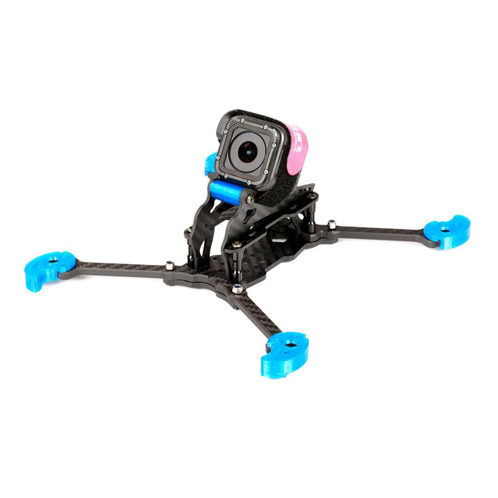 FPV Racing Frame Kit Blue for RC Drone IFlight TAU-5 212mm Wheelbase 5mm Arm 3K Carbon Fiber