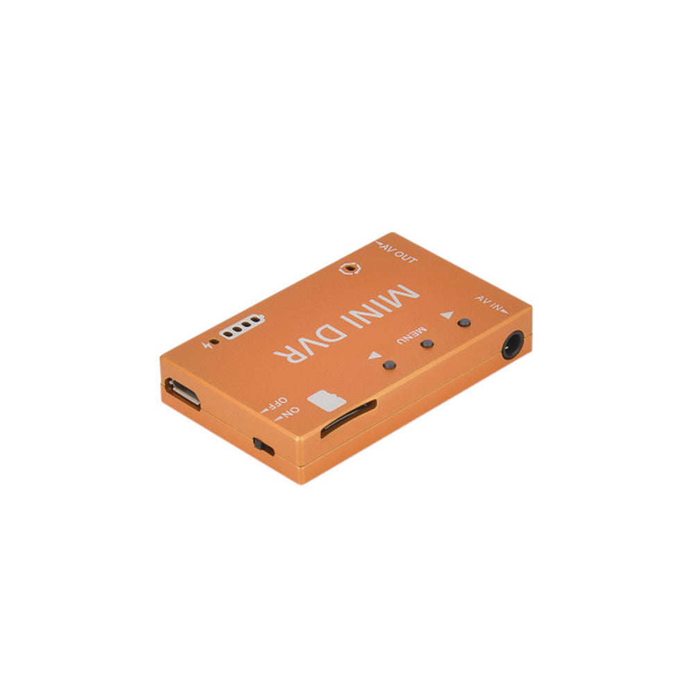 Mini FPV DVR Module NTSC/PAL Switchable Built-in Battery Video Audio Recorder for RC Drone