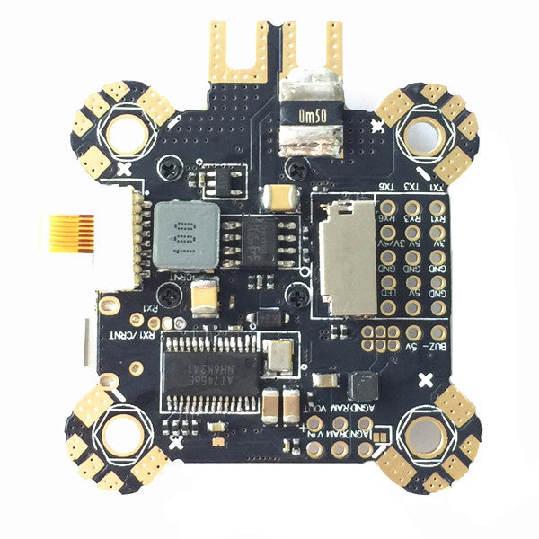 30.5x30.5mm Omnibus F4 Pro Corner Flight Controller AIO OSD PDB BEC Current Sensor ICM20608 Version