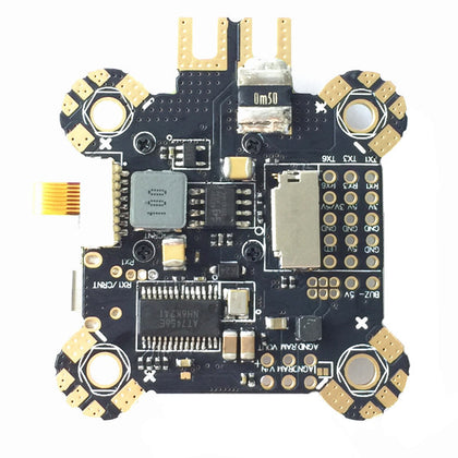 30.5x30.5mm Omnibus F4 Pro Corner Flight Controller AIO OSD PDB BEC Current Sensor ICM20608 Version - Drone 4 Racing Drone 4 Racing Default Title Drone For Racing