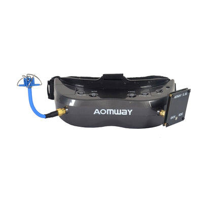 AOMWAY Commander V2 FPV Goggles 1080P 5.8G 64CH Headset HDin AVin Support Head Tracker - Drone 4 Racing Drone 4 Racing Drone For Racing