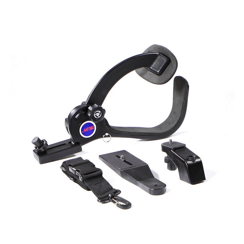 FPV Shoulder Mount Fixed Bracket Base Stand Hands Free For DV Camera Monitor