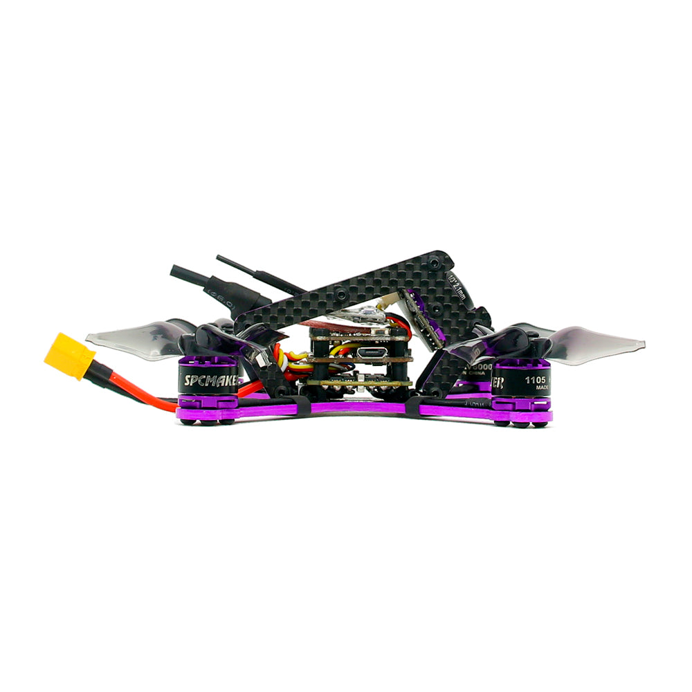 SPC Maker 115R Brushless FPV Racing RC Drone BNF Omnibus F3 15A BLHeli_S ESC 100mw 40CH
