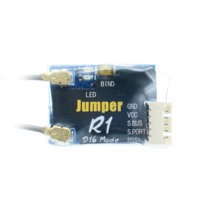 Jumper R1 Mini Receiver 16CH Sbus RX Compatible Frsky D16 Transmitter Radio Remote Control for RC Drone FPV Racing Multi Rotor