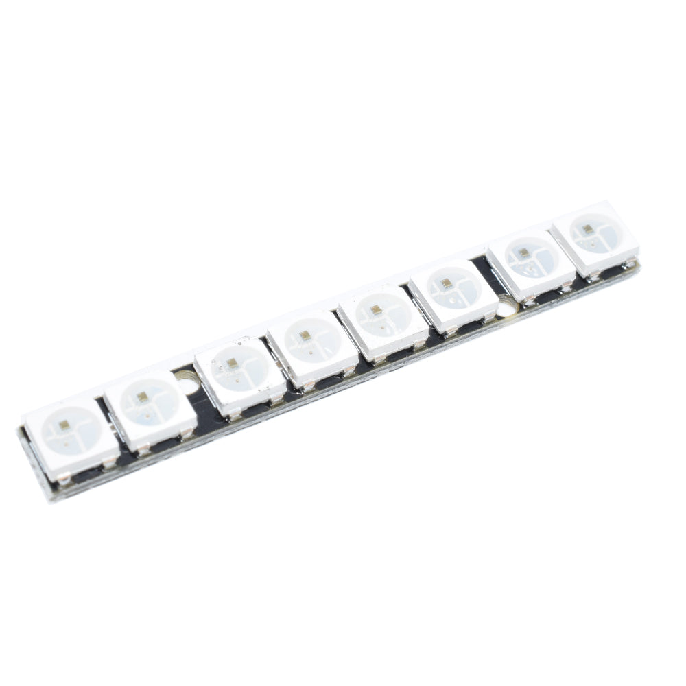 AuroraRC 8 Bits WS2812B RGB5050 LED Board 5V For F3 F4 RC Drone FPV Racing Multi Rotor