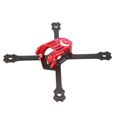 Realacc Lastar200 200mm 4mm Arm CNC & 3K Carbon Fiber 5 Inch Frame Kit for RC Drone FPV Racing