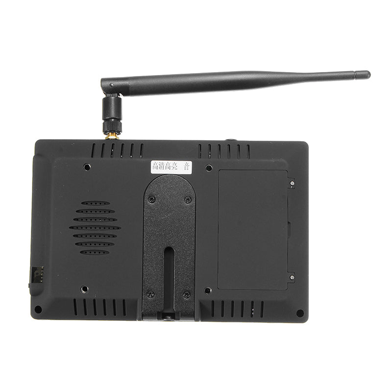 5.8G 40CH FPV Monitor 7 Inch 16:9 4:3 TFT Display Auto Search Build in Battery For RC Drone