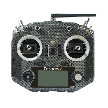 Frsky 2.4G 16CH ACCST Taranis Q X7S Carbon Fiber Water Transfer Transmitter Mode2 M7 for RC Drone - Drone 4 Racing Drone 4 Racing Default Title Drone For Racing