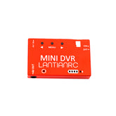 LANTIANRC FPV Mini DVR 720P NTSC/PAL Switchable Built-in Battery Video Recorder for FPV RC Drone