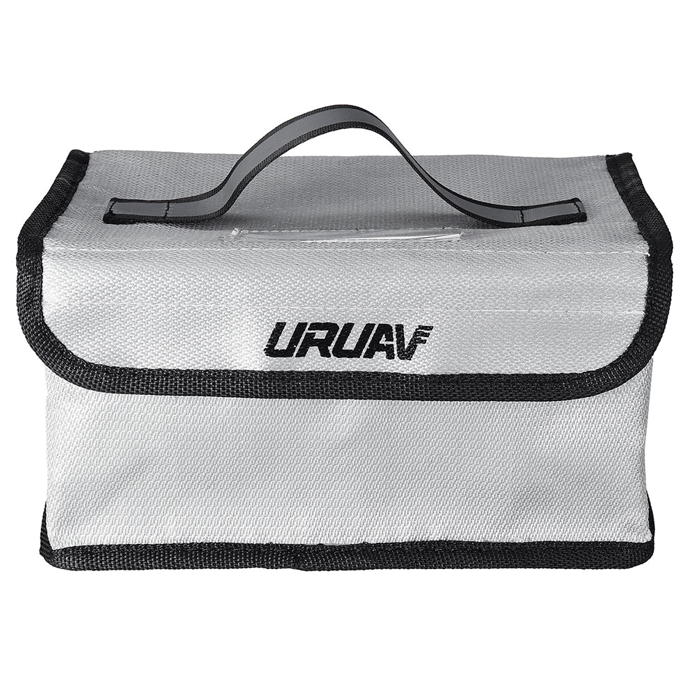 URUAV UR2 Fire Retardant Battery Explosion Proof Safety Bag with Handwritten Label 220*155*115mm