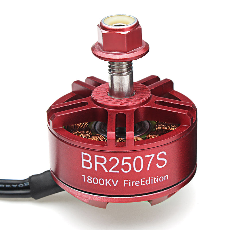 4X Racerstar 2507 BR2507S Fire Edition 1800KV Brushless Motor For RC Drone FPV Racing Frame