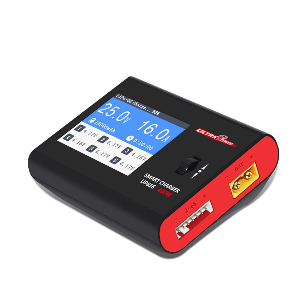 Ultra Power UP616 DC 400W 16A Smart Battery Balance Charger for 2-6S Lipo Battery