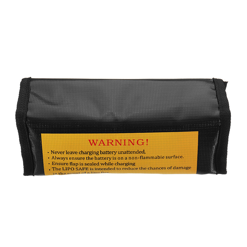 Realacc Fire Retardant LiPo Battery Pack Portable Explosion Proof Safety Bag 185x75x60mm