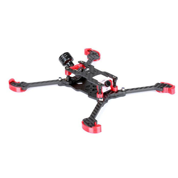 IFlight FPV Racing Frame Kit Red for RC Drone TAU-H5.5 225mm Wheelbase 5mm Arm 3K Carbon Fiber