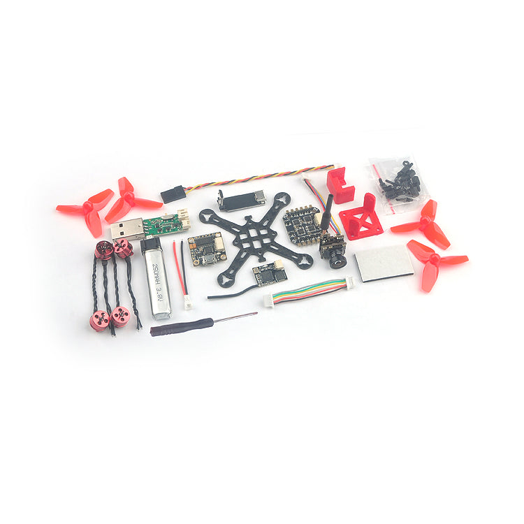 Happymodel Trainer66 FPV Racing Drone BNF F4 Flight Controller OSD 6A ESC 600TVL Camera 25mW VTX